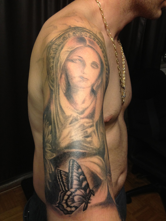 TATTOOS / Religious & Portraits